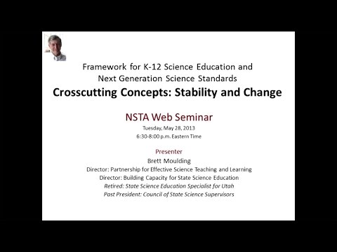 Next Generation Science Standards Crosscutting Concepts: Stability and Change