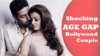 Shocking Real AGE GAP Between Bollywood Relationships   Couple AGE Difference New Updates 2019