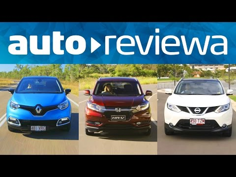 2016, 2017 Compact SUVs Comparison - Renault Captur, Nissan Qashqai, Honda HR-V - Australia