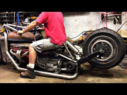 😤 Мотоциклы на Пневме 👏!