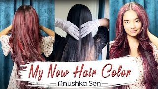 My New Hair Color | Hair Transformation | Anushka Sen