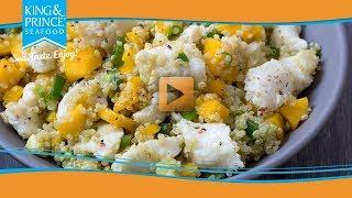 Crab & Seafood Quinoa Bowl