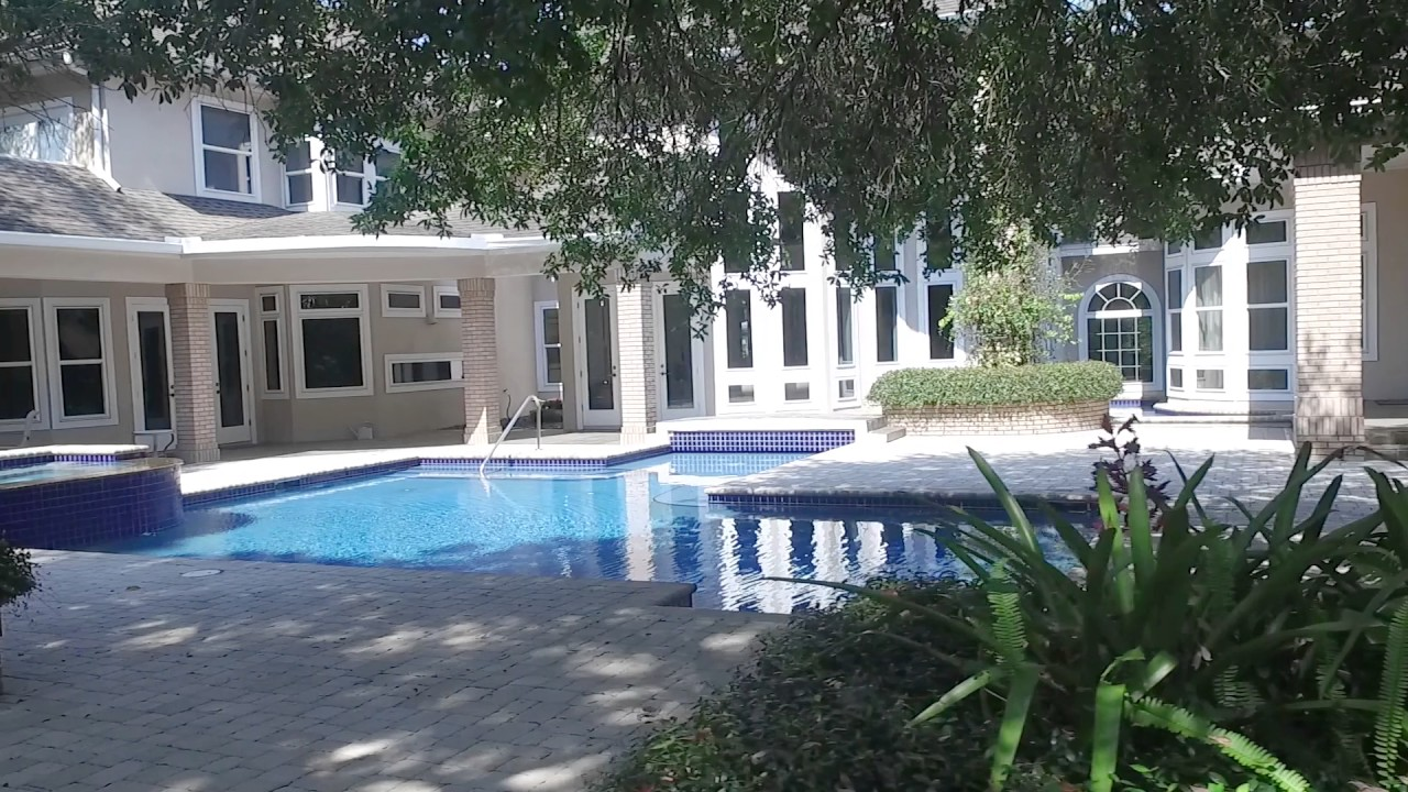 Exceptional Exquisite 3.5 Acre Clearwater Estate For Sale With Inside Basketball Court! Design