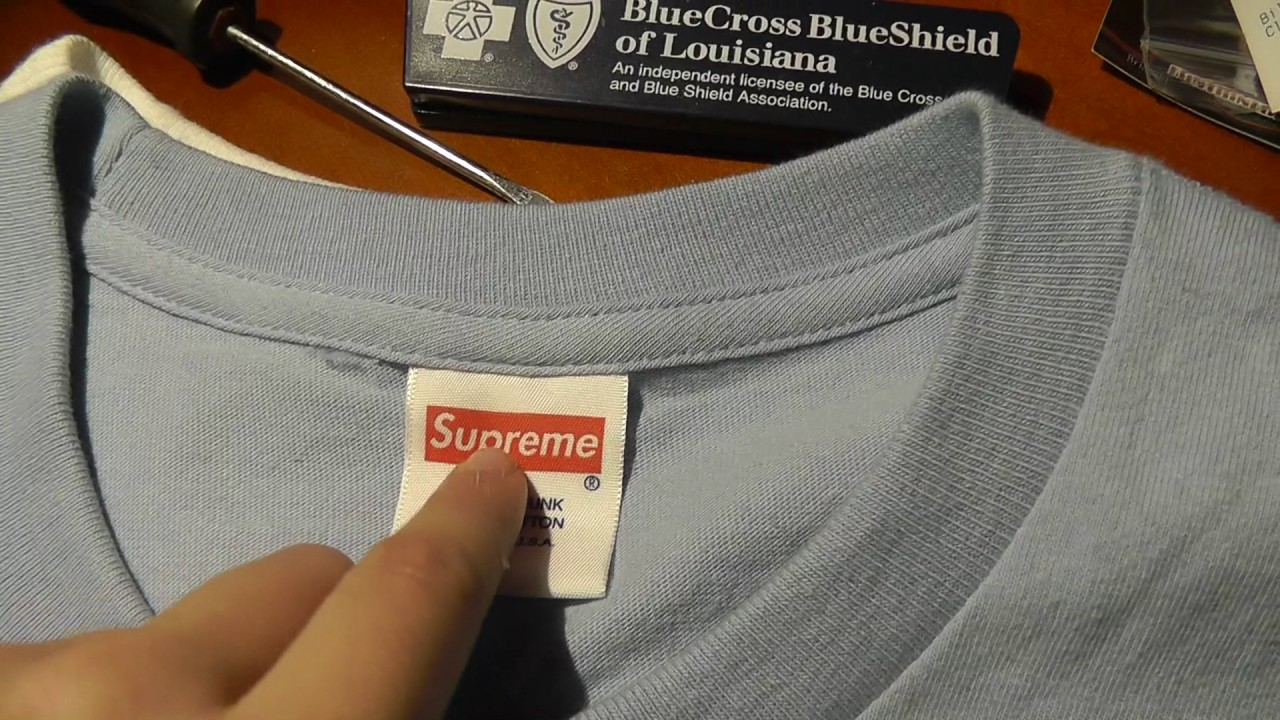 HOW TO LEGIT CHECK SUPREME (REAL VS FAKE) - YouTube 55d098fe1926