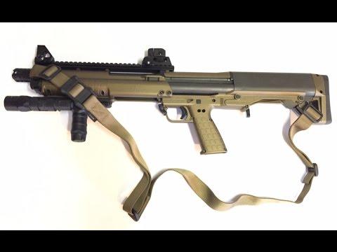 2 REVIEW : KSG (Kel-Tec Shotgun) From DE M47 made by Maverick Tom .