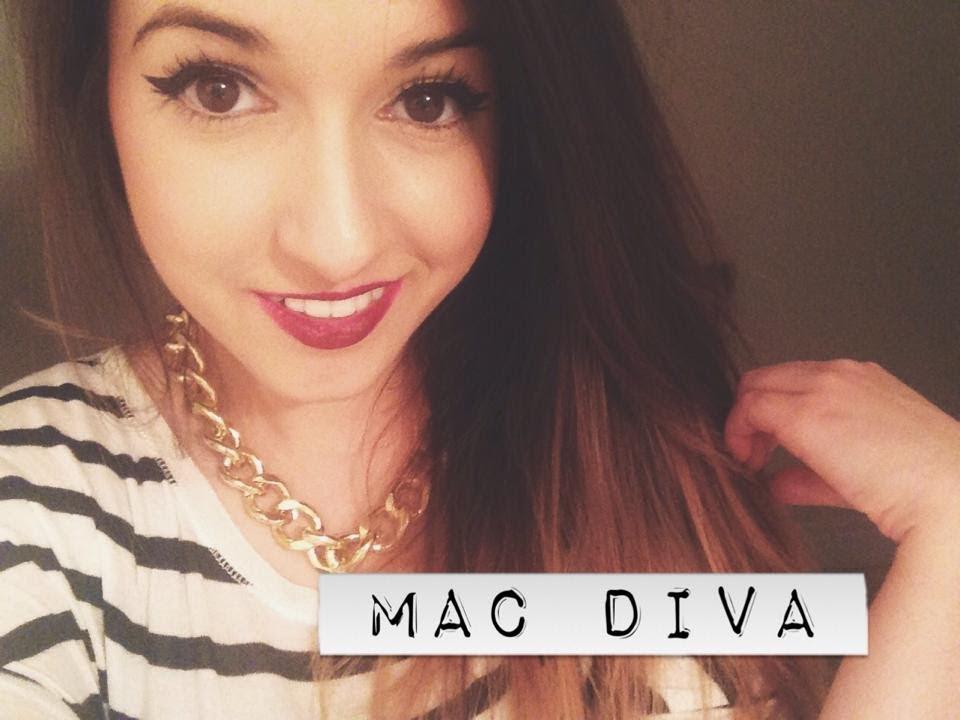 Mac Diva Lipstick On Pale Skin ♡ Veraraponzel Youtube