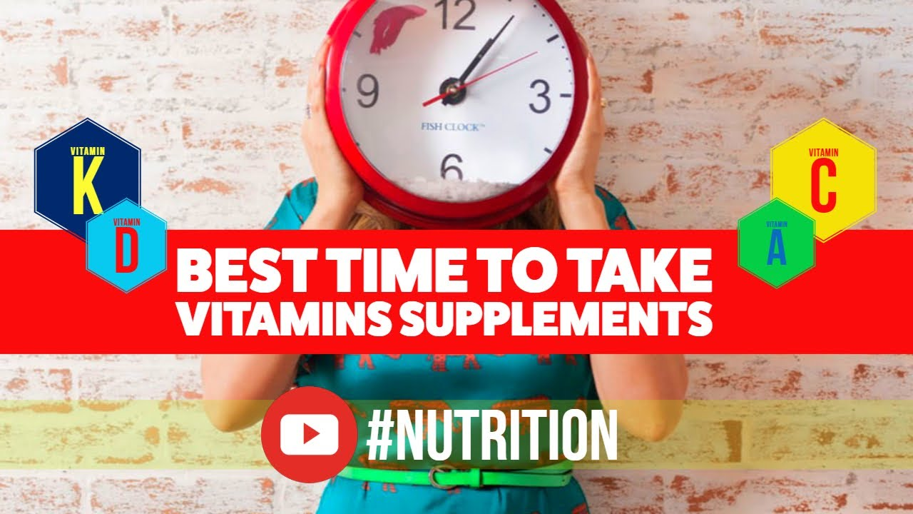 Best time to take vitamins and supplements youtube for Best time to take fish oil