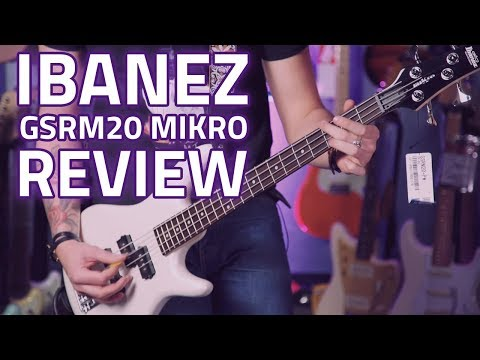 Ibanez GSRM20 miKro - A Short Scale Bass For Players Of All Sizes