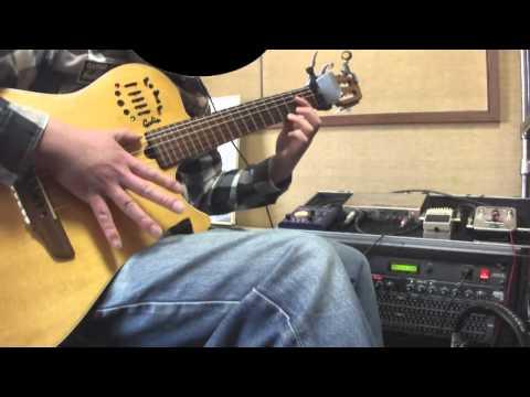 "Puella Magi Madoka Magica ""Connect"" Solo guitar instrumental"