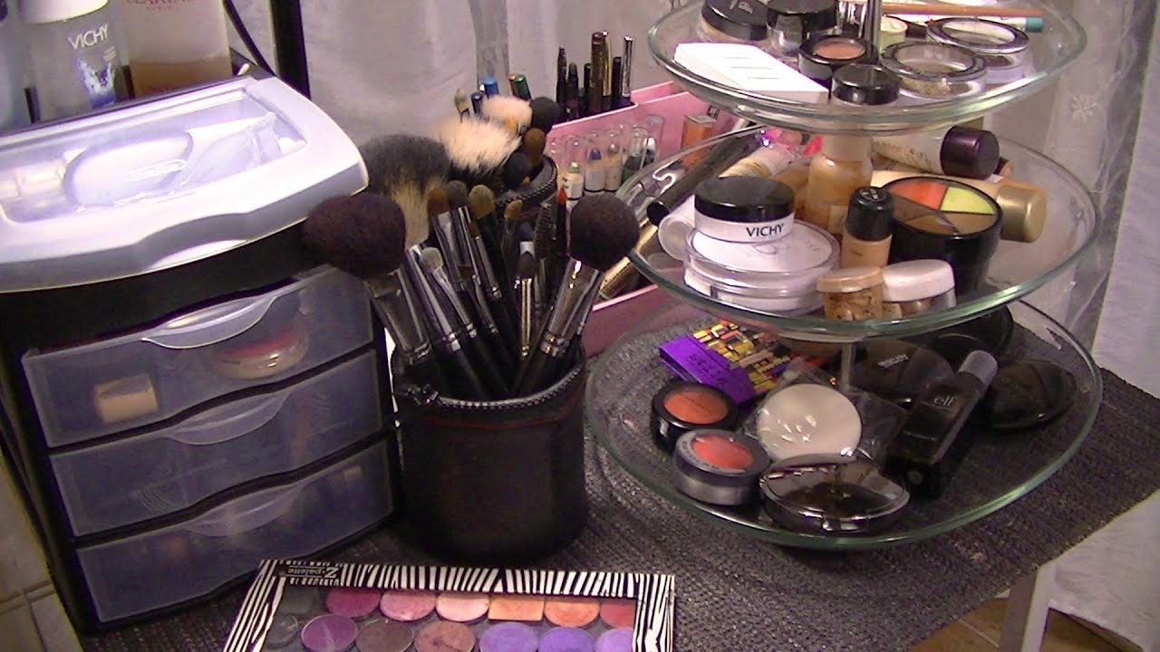 Id es de rangement maquillage youtube - Comment ranger son maquillage ...