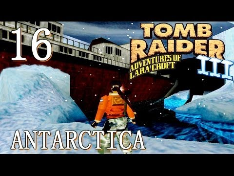 [HD] Tomb Raider 3 Walkthrough - Lvl 16: Antarctica (PC)