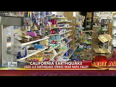 California resident details earthquake damage