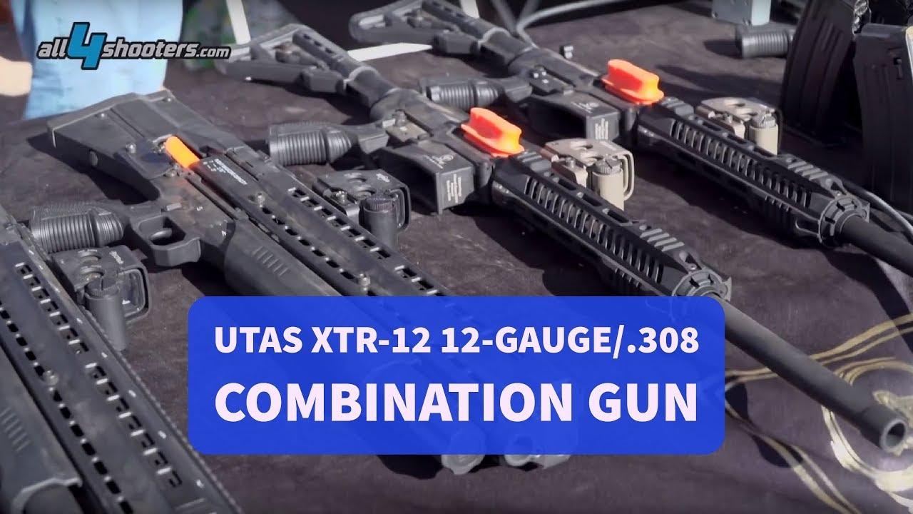 UTAS XTR-12 12-gauge/ 308 combination gun
