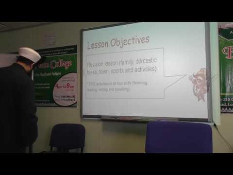 2.Spoken Arabic Lesson