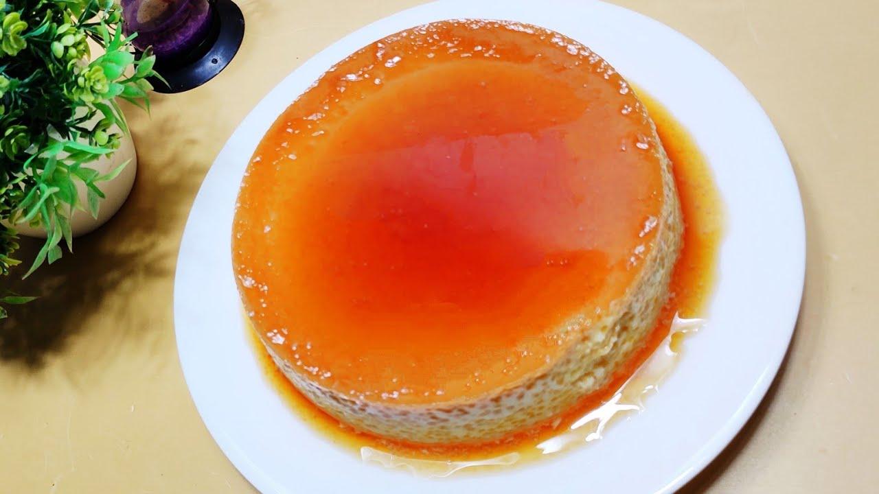 চুলায় তৈরি কনডেন্স মিল্ক পুডিং | গুড়া দুধের পুডিং | Caramel Pudding | Without Oven Condensemilk Pudd