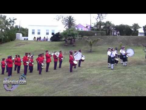 Bands At Royal Bermuda Ascot Garden Party & Horse Show May 15 2011
