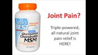 Glucosamine Chondroitin MSM - Joint Pain Relief
