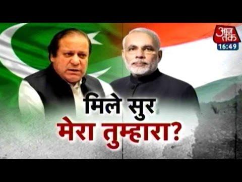 Aaj Tak & Pak's Geo TV Discuss On Indo-Pak Talks