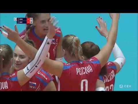 HIGHLIGHTS OF SLOVAK WOMEN VOLLEYBALL TEAM I EuroVolley I BRATISLAVA 2019