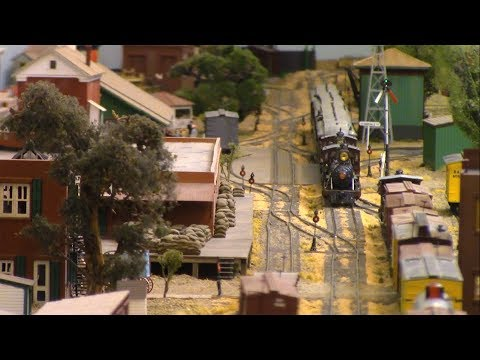 LAYOUT TOUR: HO Scale Stockton and Copperopolis RR