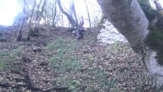 спуск с Окон близ хутора Ильич(Отрадненский р-н)