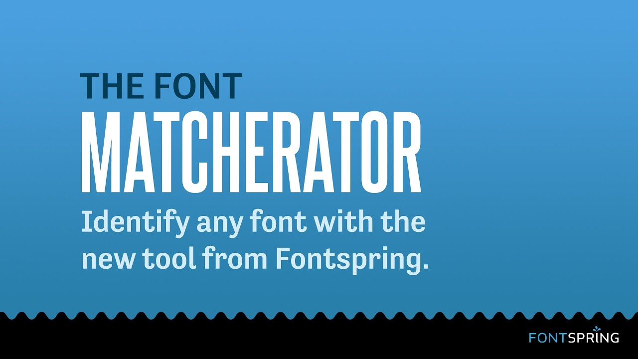 Identify Fonts - The Font Squirrel Matcherator