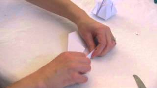 How To Make An Origami Stem, Part 2 Of The Origami Tulip
