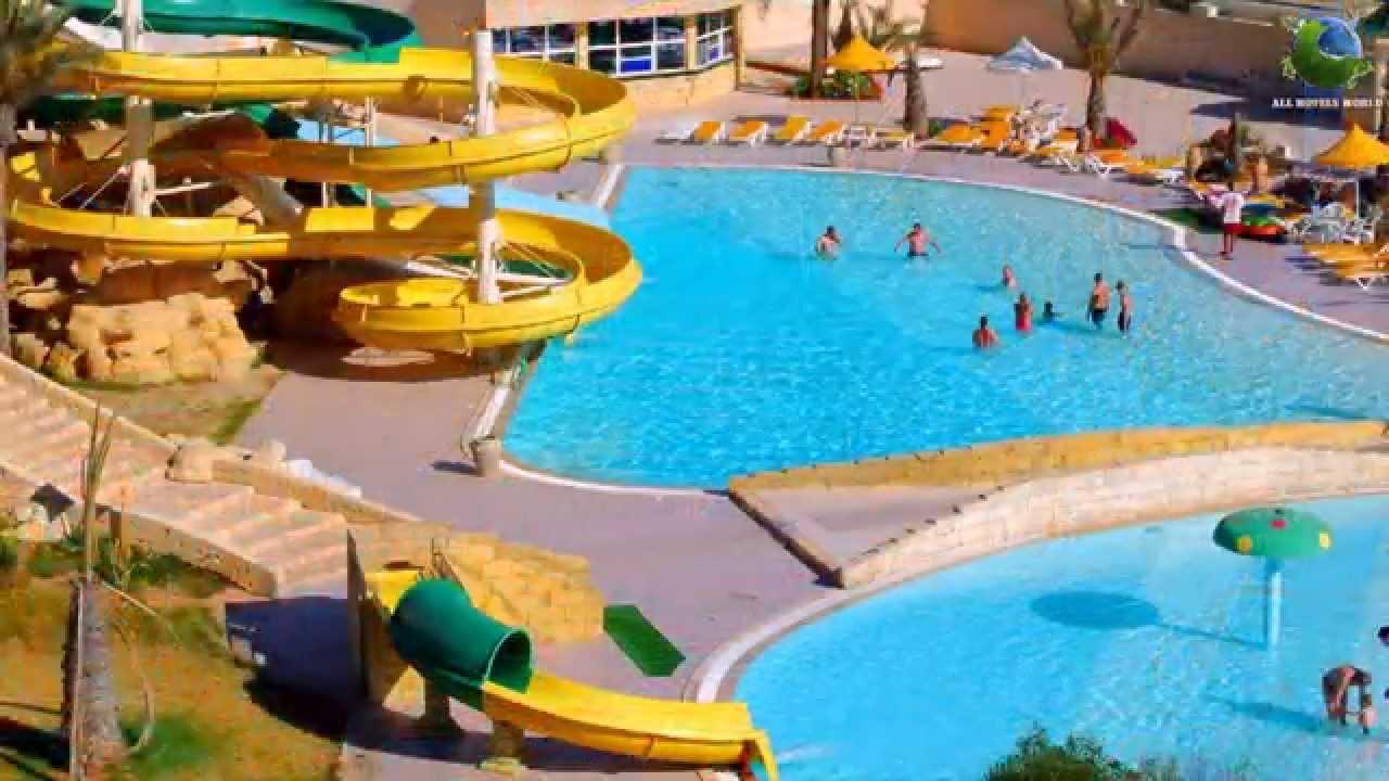 Houda Golf & Beach Club 3* Тунис - YouTube