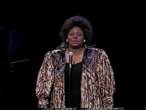 """""""Will There Really Be A Morning?"""" by Ricky Ian Gordon sung by Camellia Johnson"""