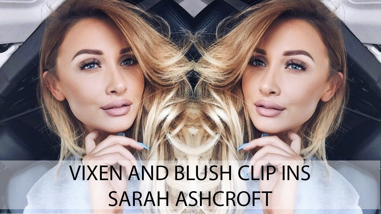 Before And After Vixen And Blush Clip In Hair Extensions Review