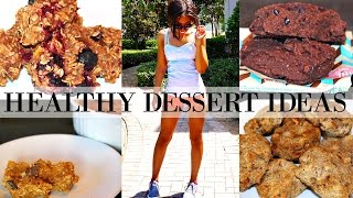 HEALTHY DESSERT IDEAS TO LOSE WEIGHT - Quick & Easy