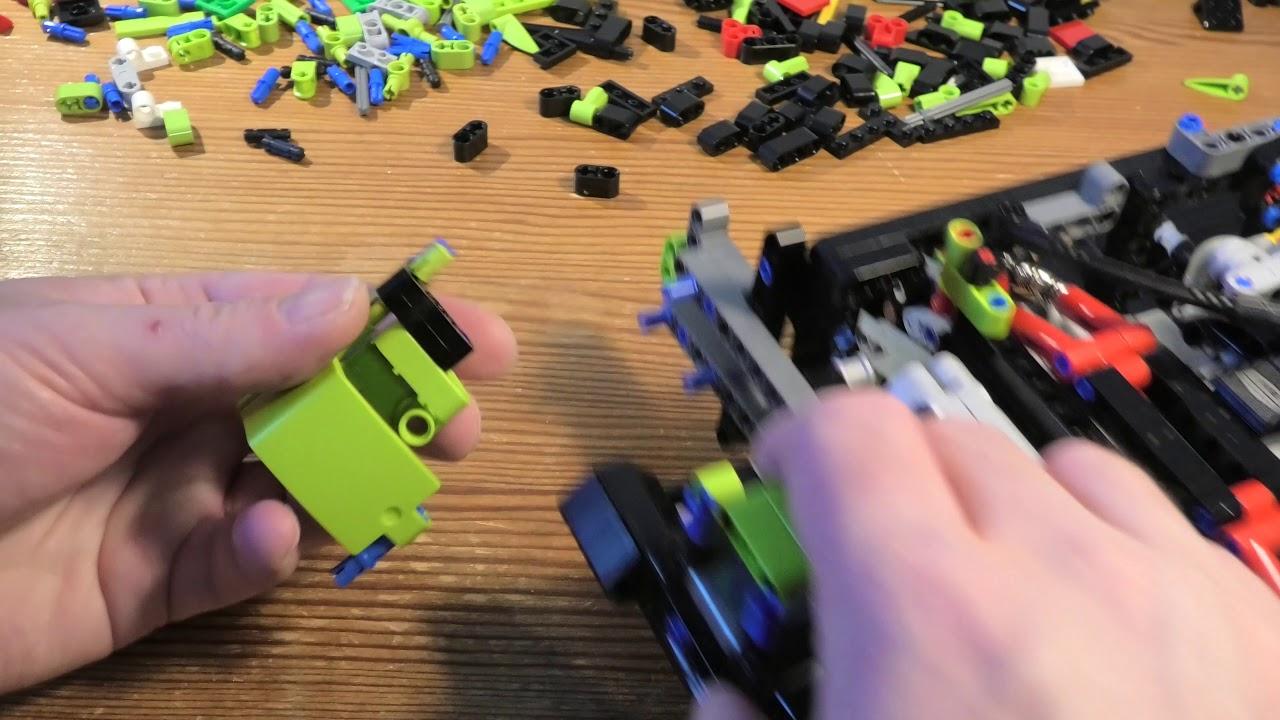 Building Lego Technic Lamborghini Sian FKP 37 SET 42115 PART 13 4K