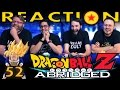 TFS DragonBall Z Abridged REACTION Episode 52