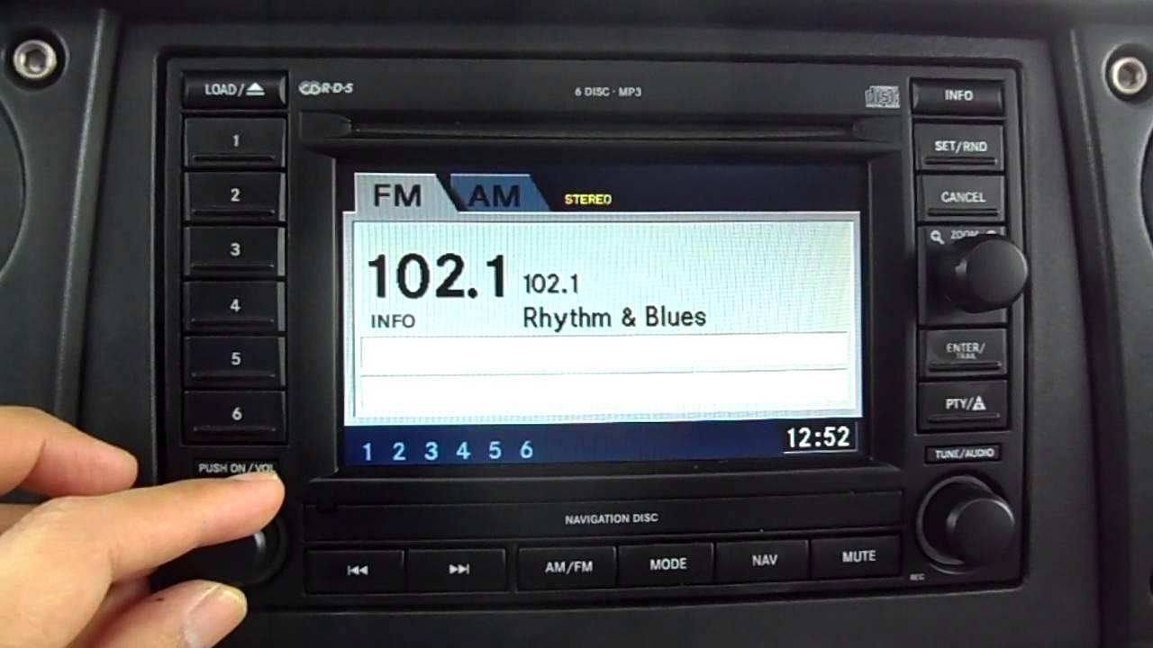 4x4 Wire Diagram 2006 Jeep Commander Premium Sound System Plus Navigation