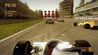 F1 2013 [PC] Classic Edition (80's) - Gameplay (HD)
