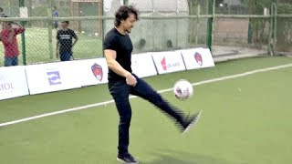 Tiger Shroff Freestyle Football Skills