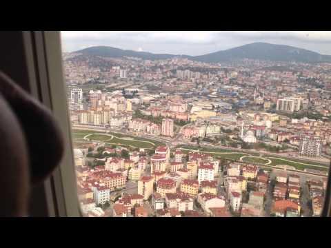 İstanbul Sabiha Gökçen havalimanına Anadolujet uçağı ile iniş