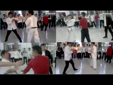 Wing Chun Opponents Of Xu Xiaodong Take On Kyokushin And TKD