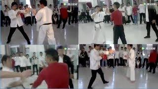 Baixar Wing Chun Opponents Of Xu Xiaodong Take On Kyokushin And TKD