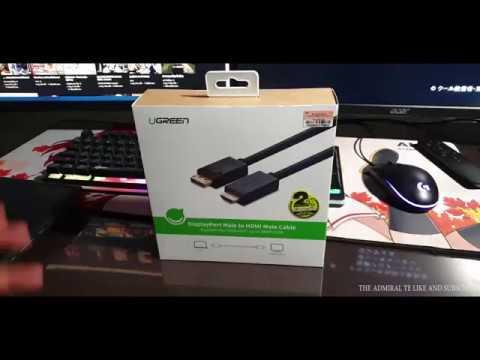 Re:View สายต่อจอ UGREEN DP TO HDMI