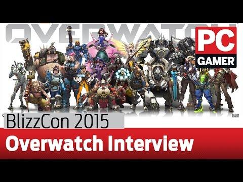 BlizzCon 2015 - Overwatch interview with Jeff Kaplan and Chris Metzen