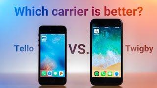 Tello vs. Twigby - Prepaid Carrier Comparison!