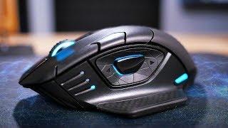 Мышь, которая заряжается от коврика! Обзор Corsair Dark Core RGB SE