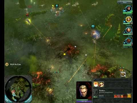 Warhammer 40K -Dawn of War 2 (The Last Stand - Defense part 1) |