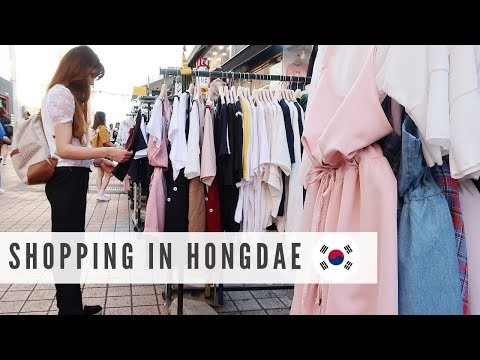 Shopping in Hongdae | Pet Shop, BT21, KPOP Dance, Food | Come with Me Mp3