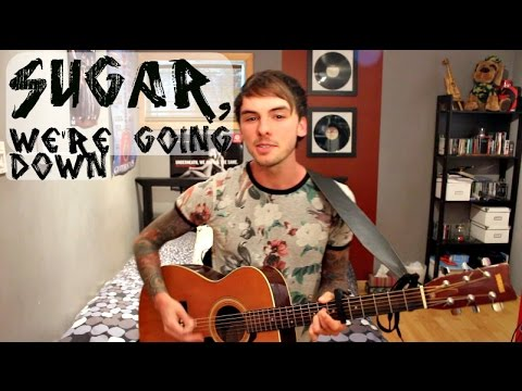 Fall Out Boy - Sugar, We're Going Down (Acoustic Cover) by Janick Thibault