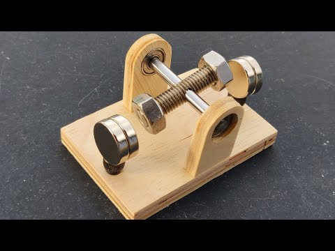 Powerful Mini Brushed Motor Using Free Energy Generator