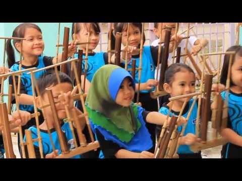 Children's Song Angklung ~ Burung Kakak Tua