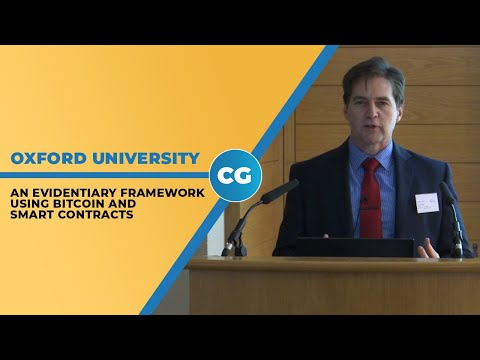 Dr. Craig Wright: Bitcoin compliant with UK's evidentiary requirements for legal contracts