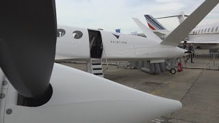 Aviation companies bet on electric at Paris Air Show
